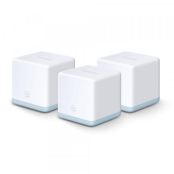 Router Mercusys WIFI de malla, AC1200 Mbps Paquete por 3 Unidades