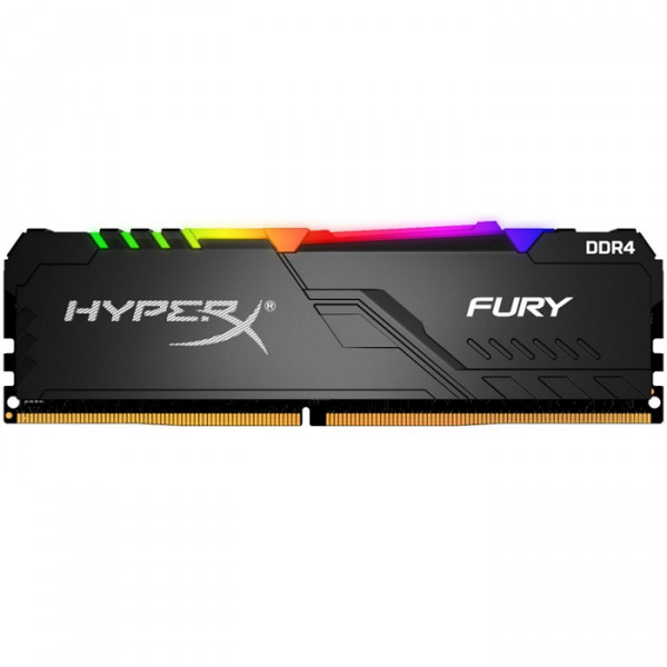 Memoria RAM KINGSTON para PC HyperX FURY RGB 8GB 3000MHz DDR4 CL15 DIMM 1Rx8