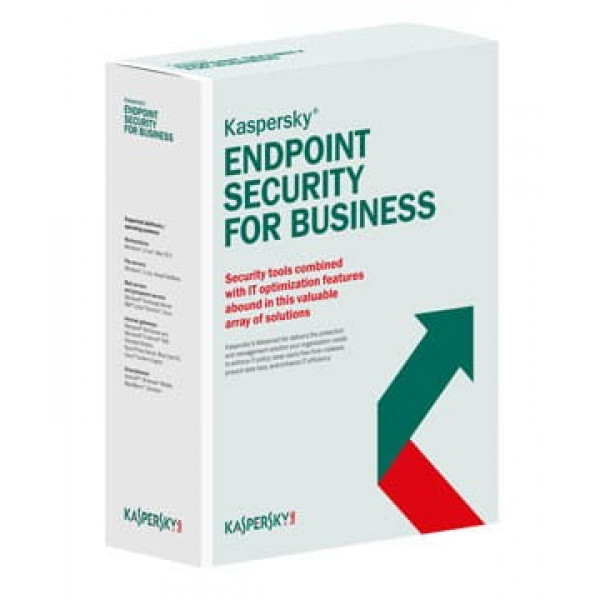 Licencia kaspersky endpoint security for business -  select latin america edition 15-19 Node 2 Year Base License