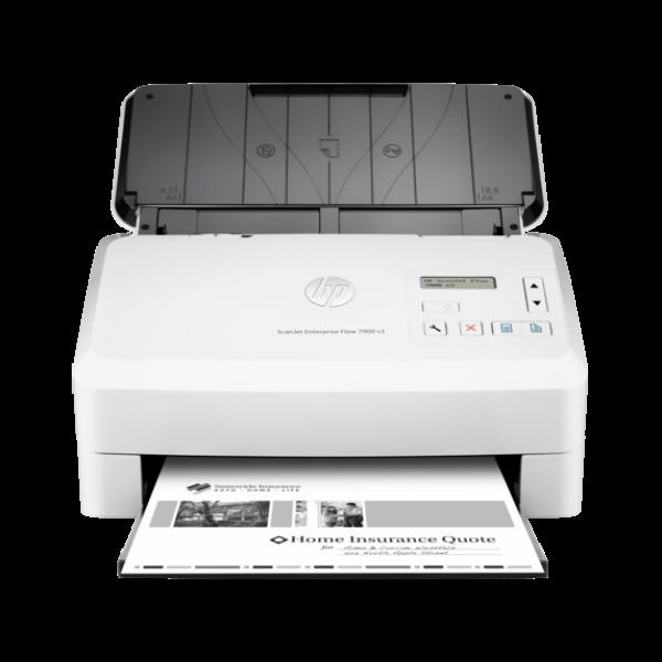 Escáner HP ScanJet Enterprise Flow 7000 s3