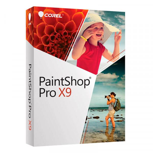 Corel PaintShop Pro X9 Academicemic Maintenance 1 año 1-4 usuarios (cada uno) Licencia de escritorio de Windows