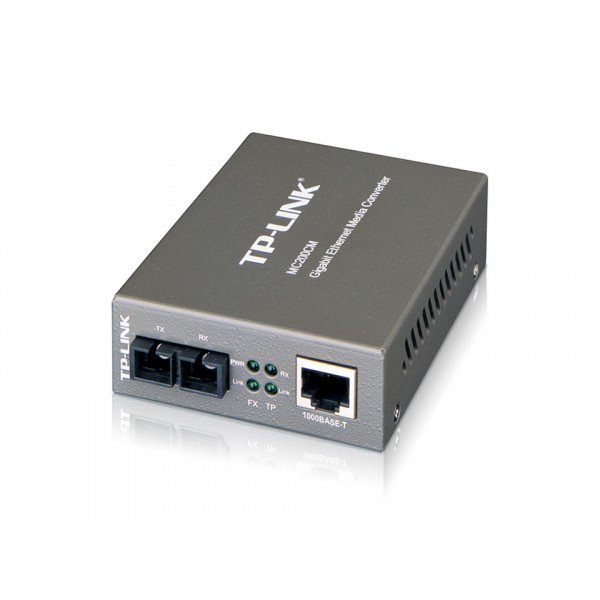 Convertidor TP-LINK  Multimedia Multi-modo Gigabit
