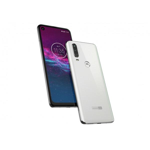 Celular Moto One Action 128GB Blanco