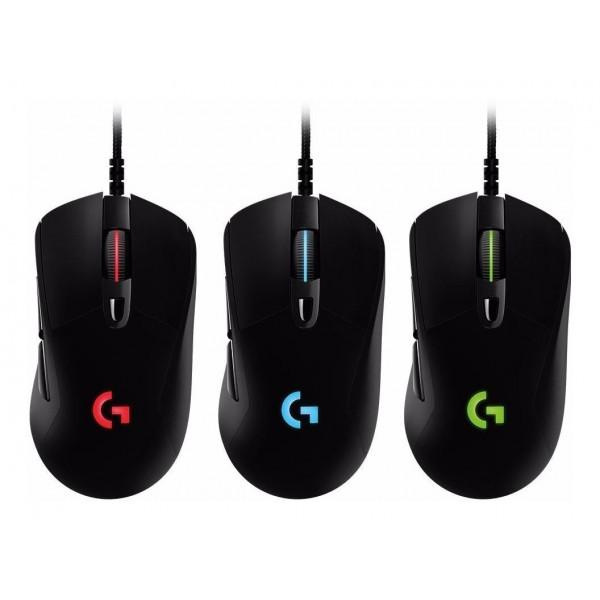Mouse G403 Prodigy Logitech Gaming Alámbrico USB Negro