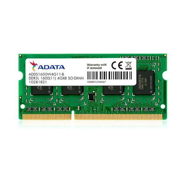 Memoria RAM Portátil 4GB Adata DDR3 Bus 1600