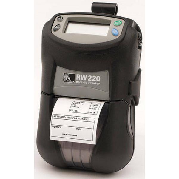 Impresora Zebra Móvil RW220 - Bluetooth con Cargador