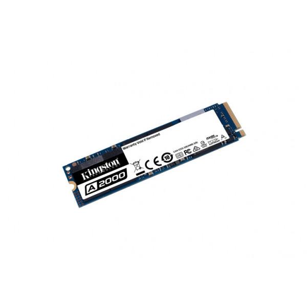 unidad estado solido kinstong SSD A2000 M.2 2280 NVMe PCIe Gen 3x4 1000GB