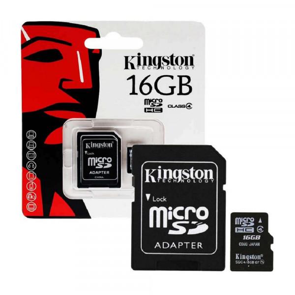 Micro sd de 16gb con adaptador