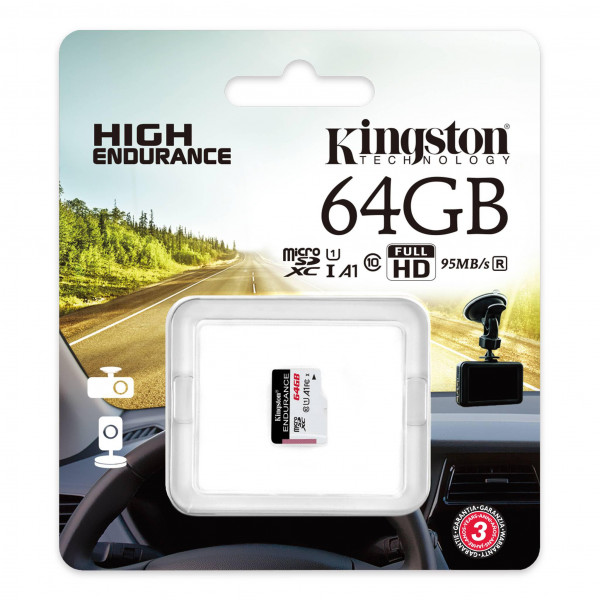 Memoria Kingston microSDHC Endurance
