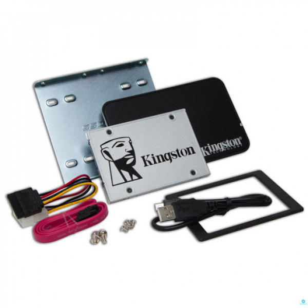 SSD Kingston SSDNow UV400, 480GB, SATA III, 2.5'', 7mm - Desktop/Laptop Upgrade Kit