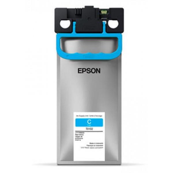 Pack de Tinta Cian de Alta Capacidad Epson T01D