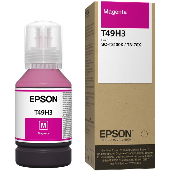 Botella de Tinta Magenta Epson T49H, 140ml Tinta