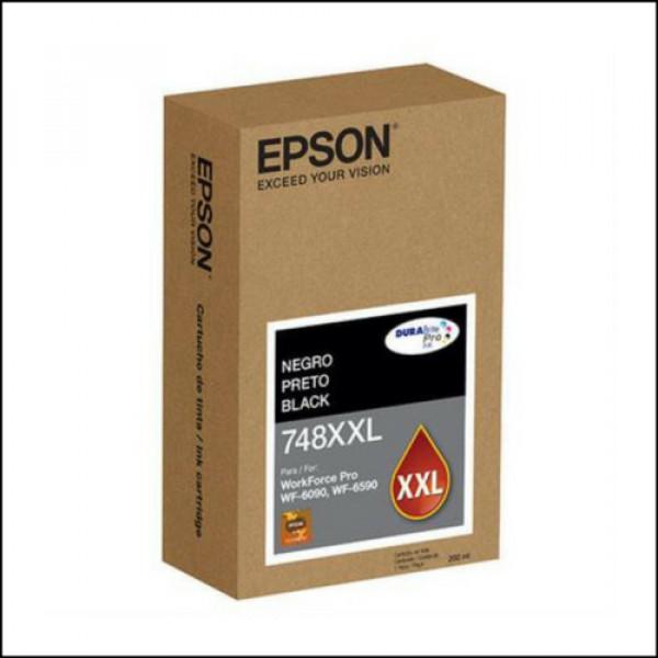 Cartucho de tinta Epson T748XXL120-AL Black WF-6090/WF-6590 Aprox 10,000 PG