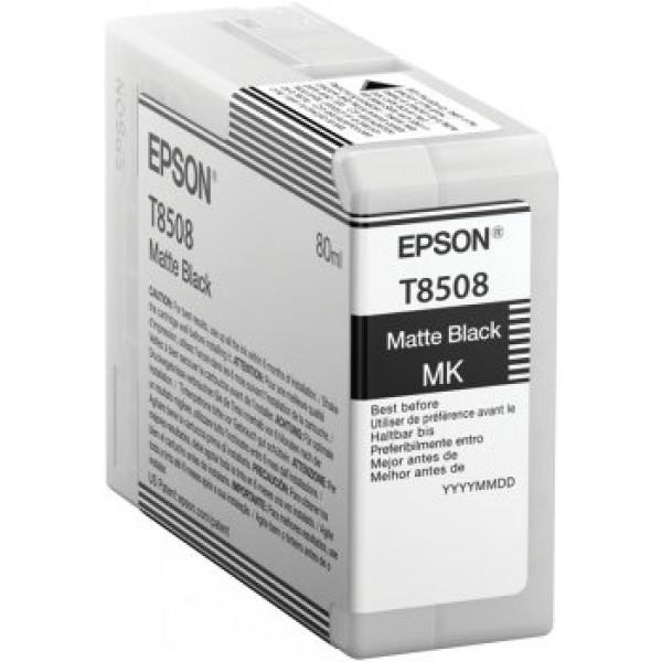 Tinta Epson T850800 - Negro Mate - 80ml