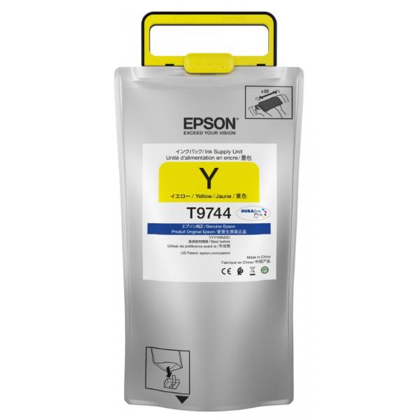 Bolsas de Tinta Amarilla Epson T973 de Alta Capacidad Tinta