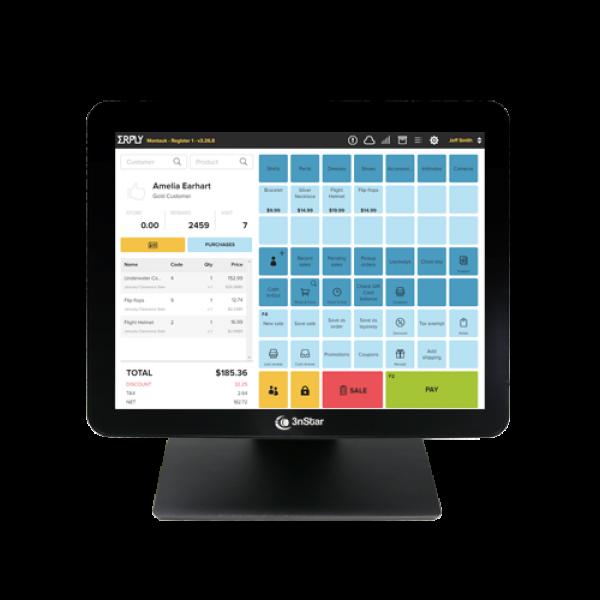 Monitor Táctil Capacitivo de 15″ sin Bisel
