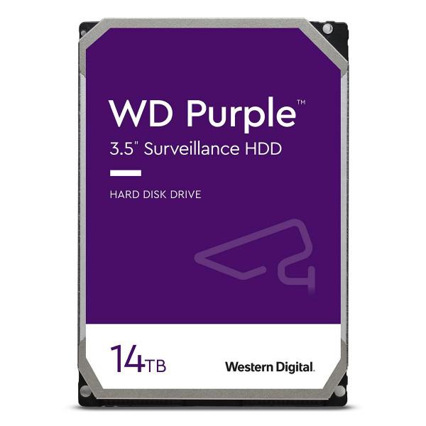 Disco Duro Western Digital Morado para vigilancia de 6TB