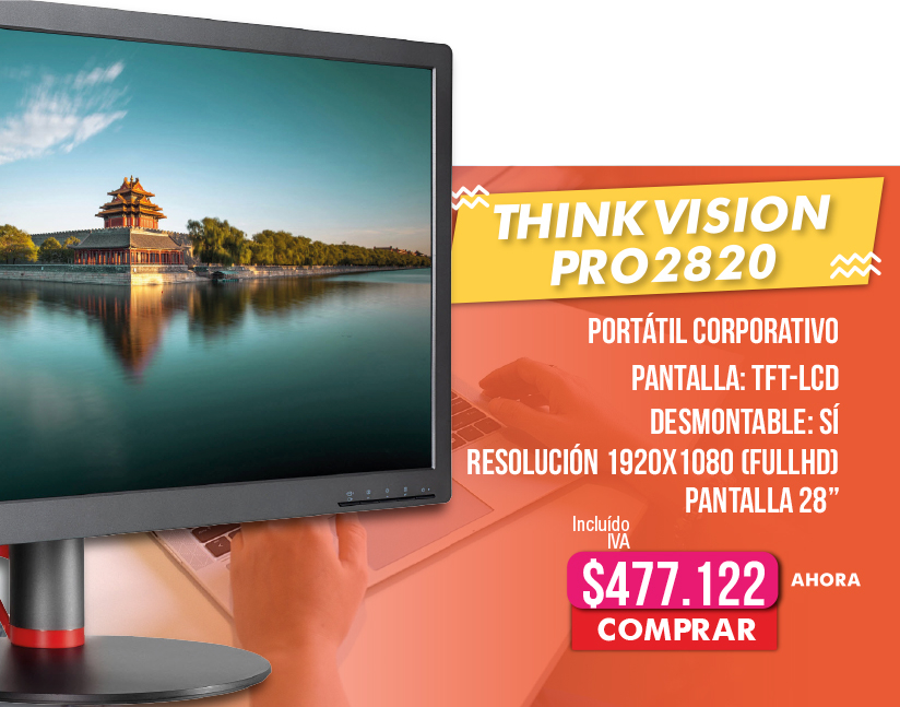 Monitor Lenovo ThinkVision Pro 2820